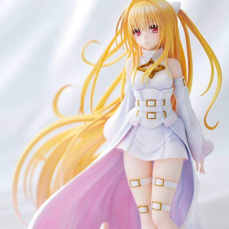 To Love-Ru Darkness Golden Darkness White Trans ver. Complete Figure
