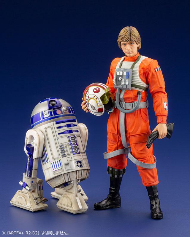 ARTFX+ Star Wars Luke Skywalker X-WING Pilot 1/10 Easy Assembly Kit 14