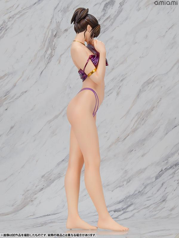 No.C633P Kochou Ran Purple Version 1/5 Complete Figure 4