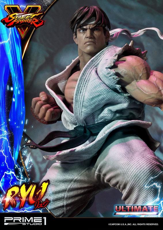 Premium Master Line Street Fighter V Ryu Ultimate 1/4 Statue 24