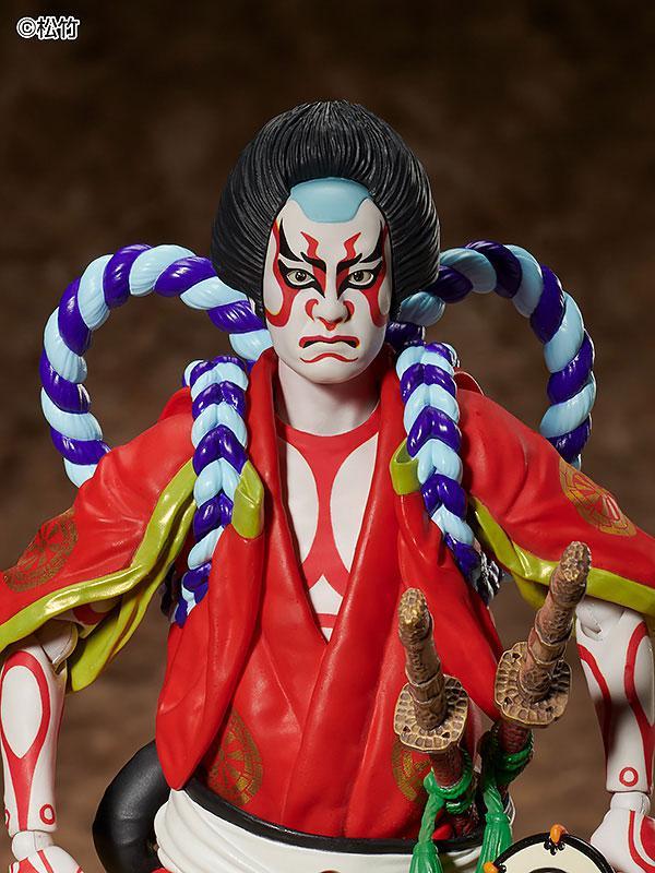 figma Kabuki -Yoshitsune Senbon Zakura- Kitsune Tadanobu 5