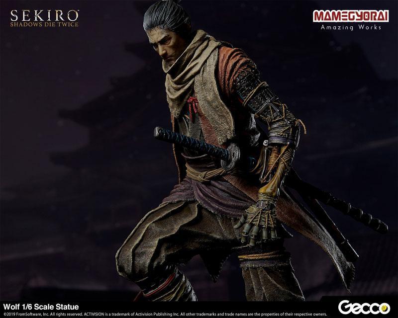 [Bonus] SEKIRO: SHADOWS DIE TWICE/ Wolf 1/6 Scale Statue 25