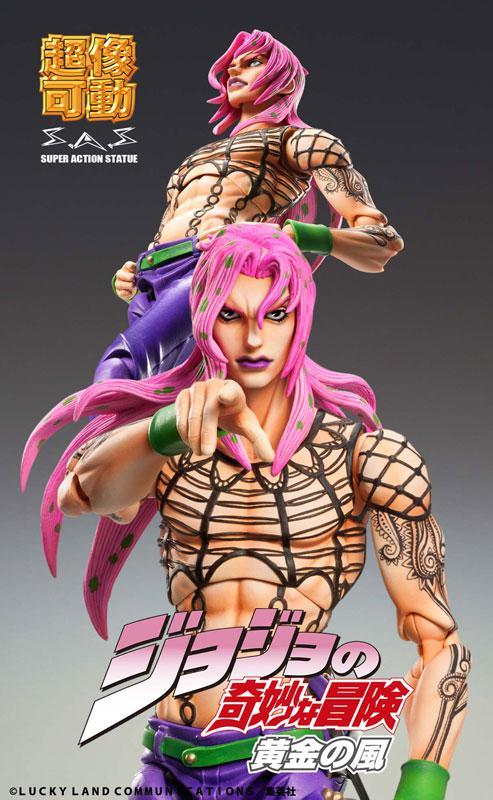 "Super Action Statue JoJo's Bizarre Adventure Part.V ""Diavolo"""