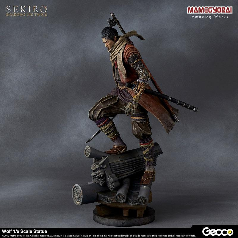 [Bonus] SEKIRO: SHADOWS DIE TWICE/ Wolf 1/6 Scale Statue 5