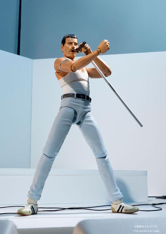 S.H.Figuarts Freddie Mercury LIVE AID Ver.