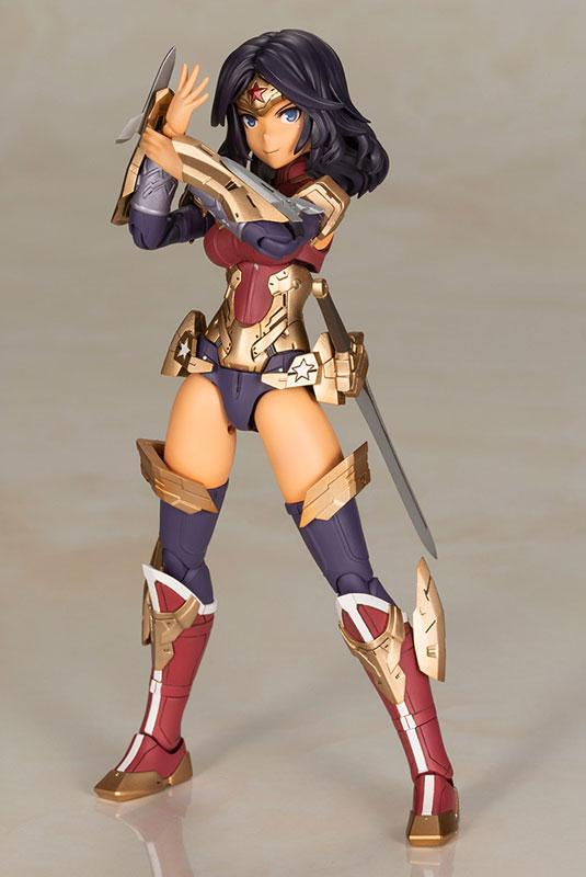 Cross Frame Girl Wonder Woman Humikane Shimada Ver. Plastic Model
