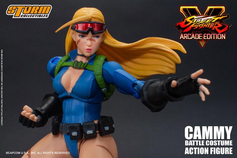 Street Fighter V Action Figure Cammy Battle Costume