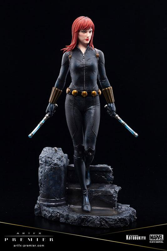 ARTFX PREMIER MARVEL UNIVERSE Black Widow 1/10 Easy Assembly Kit 5