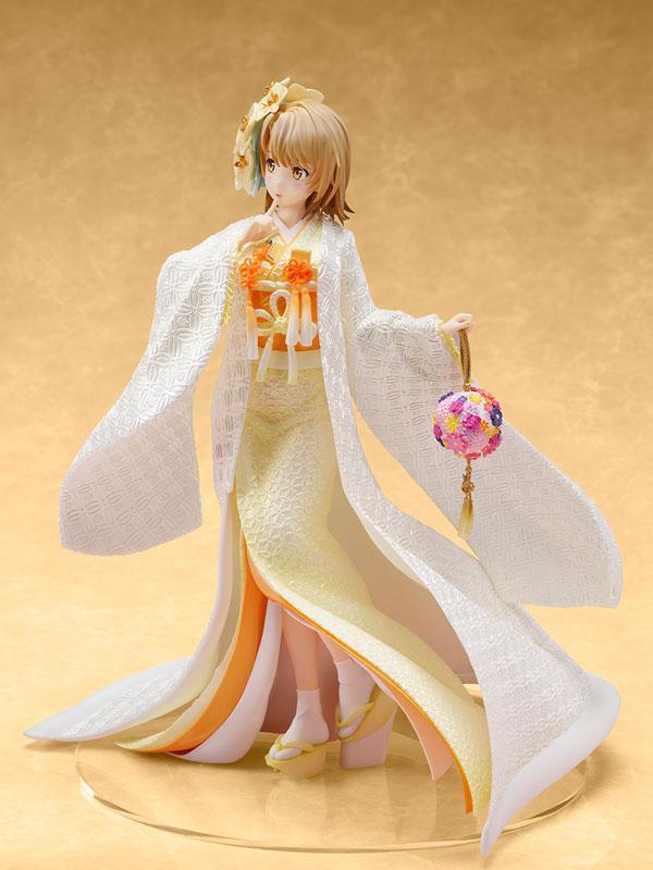 My Teen Romantic Comedy SNAFU. Completion Iroha Isshiki -White Kimono- 1/7 Complete Figure 1