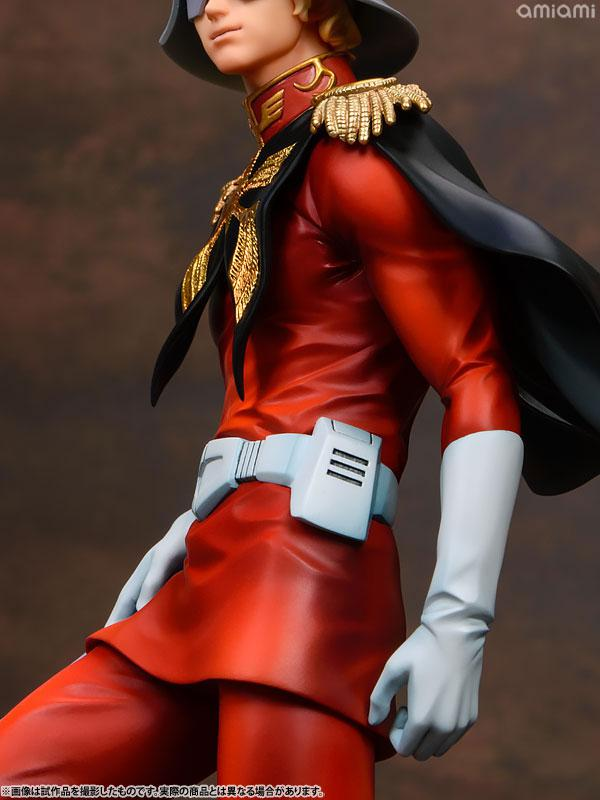 GGG (Gundam Guys Generation) Mobile Suit Gundam Char Aznable 1/8 Complete Figure 18
