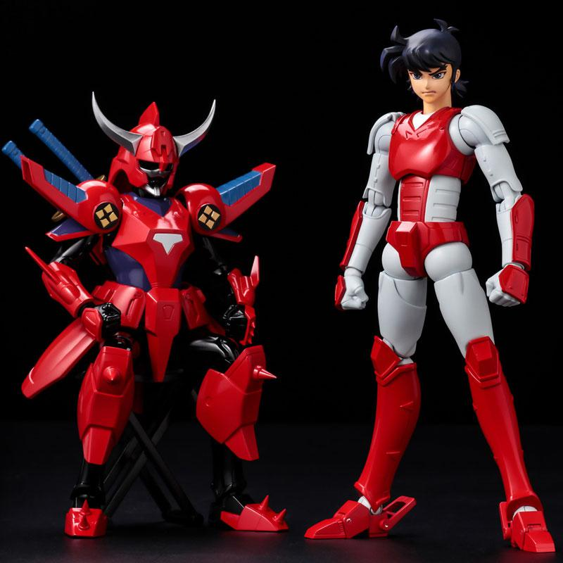 Choudan Kadou Ronin Warriors Ryo of the Wildfire Posable Figure 2