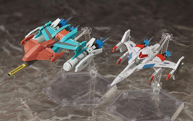 figma Galaxian Galaxip GFX-D001a / Galaga Fighter GFX-D002f 0