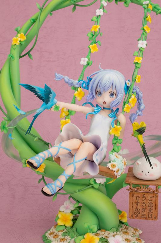 Is the order a rabbit?? Chino -Flower Swing- 1/7 Scale Figure