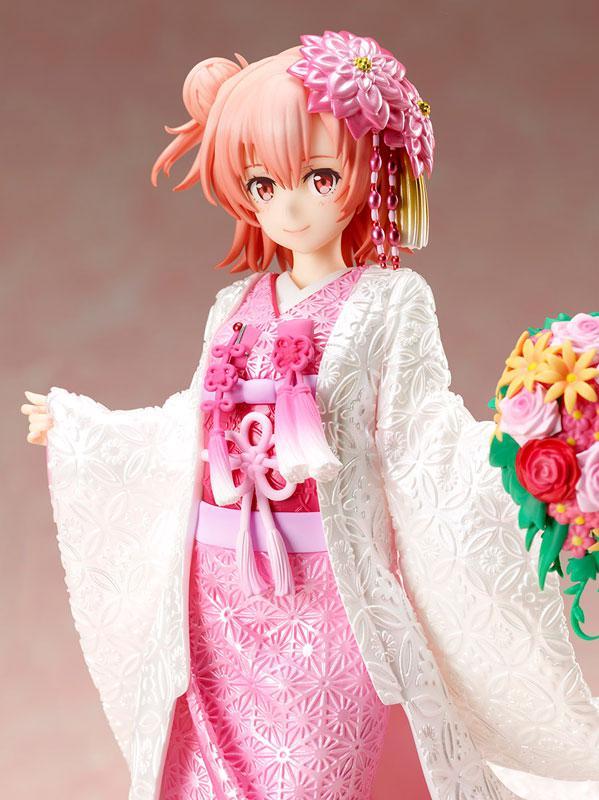 My Teen Romantic Comedy SNAFU. Completion Yui Yuigahama -White Kimono- 1/7 Complete Figure