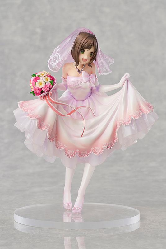 THE IDOLM@STER Cinderella Girls Miku Maekawa Dreaming Bride ver. Limited Edition 1/7 Complete Figure 0