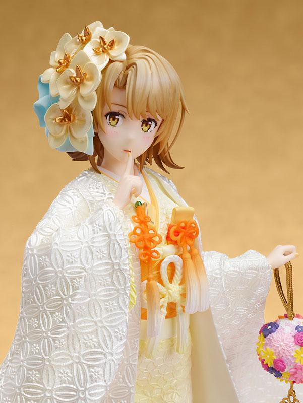 My Teen Romantic Comedy SNAFU. Completion Iroha Isshiki -White Kimono- 1/7 Complete Figure 0