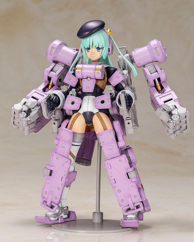 Frame Arms Girl Greifen Ultramarine Violet Ver. Plastic Model main