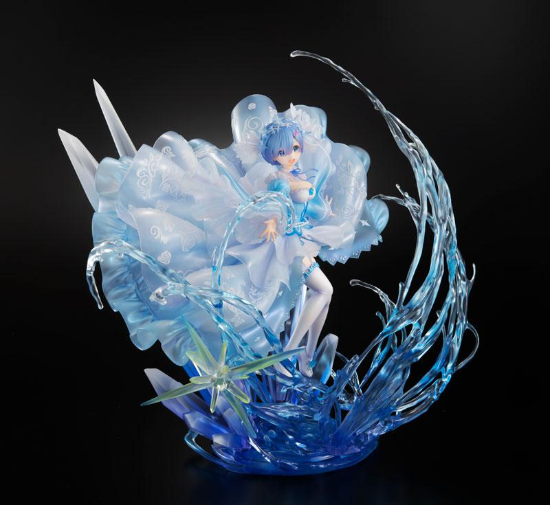 Re:ZERO -Starting Life in Another World- Rem -Crystal Dress Ver- 1/7 Complete Figure 1