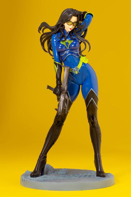 G.I. JOE Bishoujo Baroness 25th Anniversary Blue Limited Edition 1/7 Complete Figure main
