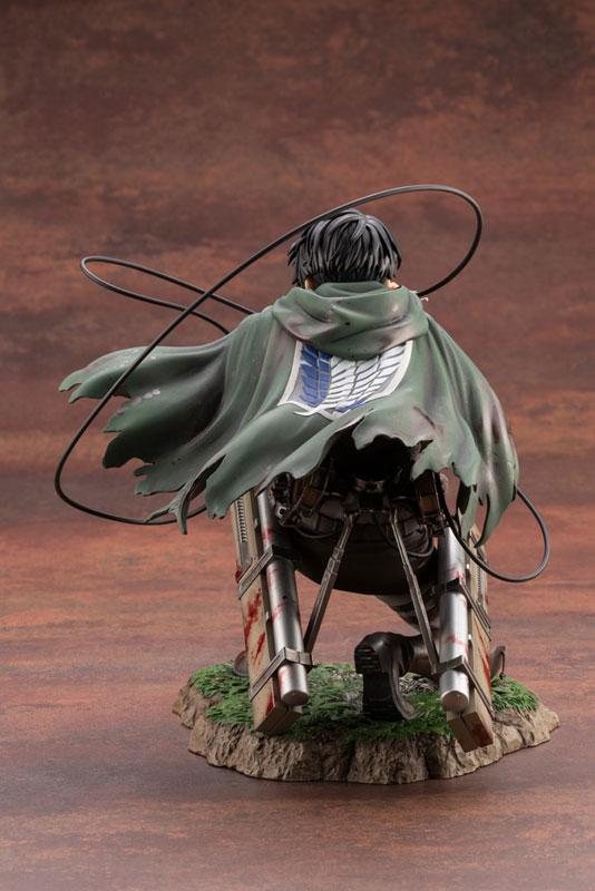 ARTFX J Attack on Titan Levi Fortitude ver. 1/7 Complete Figure