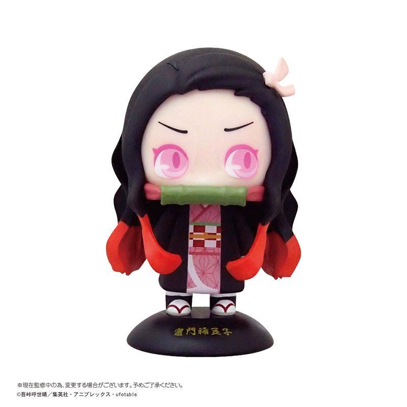 Yura-Yura Head Demon Slayer: Kimetsu no Yaiba 04 Nezuko Kamado (Discontent) Complete Figure