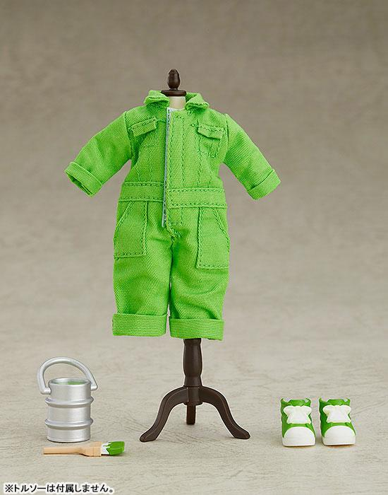 Nendoroid Doll Outfit Set (Colorful Coverall: Yellow-green) 0