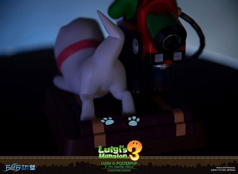 Luigi's Mansion 3/ Luigi 9 Inch PVC Statue Collector Edition 25
