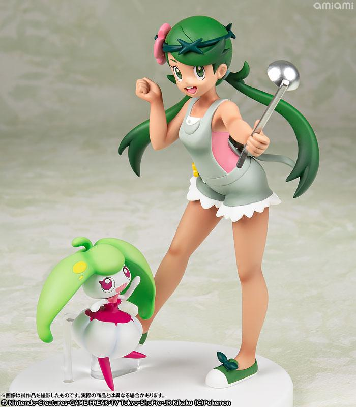 G.E.M. Series Pokemon Mallow & Steenee Complete Figure main
