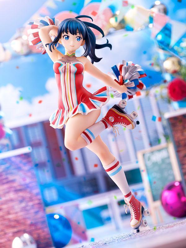 SSSS.GRIDMAN Rikka Takarada Cheerleader style 1/7 Complete Figure
