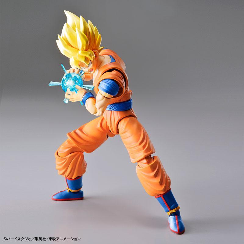 "Figure-rise Standard Super Saiyan Son Goku (Renewal Ver.) Plastic Model ""Dragon Ball"" 0"