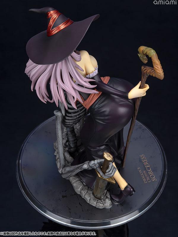 Dragon's Crown Sorceress Darkness Crow ver. 1/7 Complete Figure 11