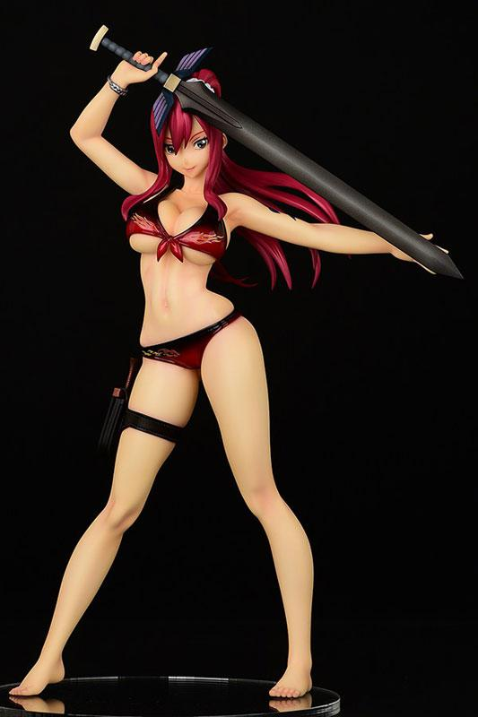 FAIRY TAIL Erza Scarlet, Swimsuit Gravure_Style/ver.Flame 1/6 Complete Figure product
