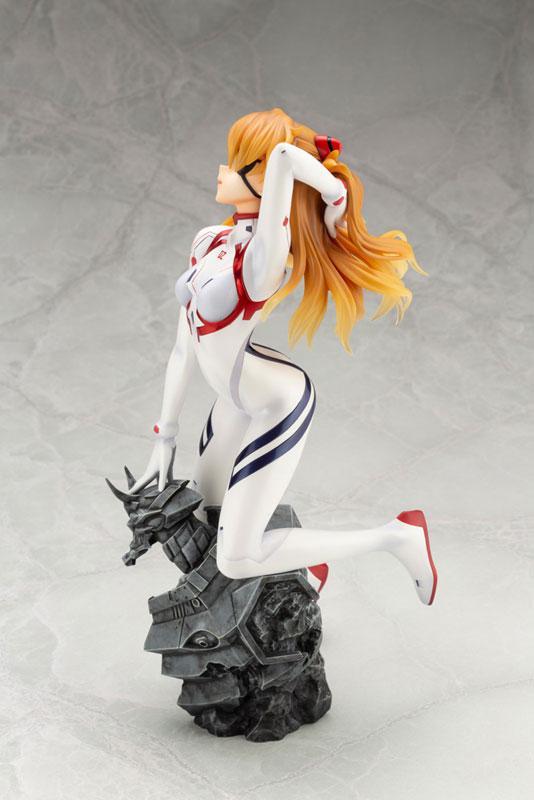 Evangelion: 3.0+1.0 Thrice Upon a Time Asuka Langley Shikinami -White Plugsuit ver. - 1/6 Figure