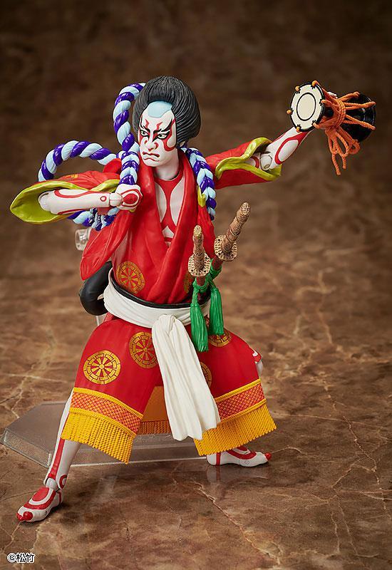figma Kabuki -Yoshitsune Senbon Zakura- Kitsune Tadanobu 4
