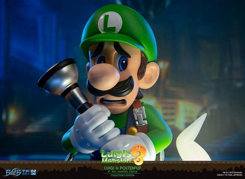 Luigi's Mansion 3/ Luigi 9 Inch PVC Statue Collector Edition 14