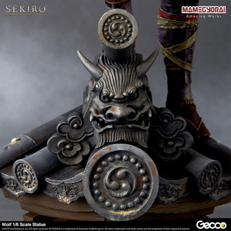 [Bonus] SEKIRO: SHADOWS DIE TWICE/ Wolf 1/6 Scale Statue 16