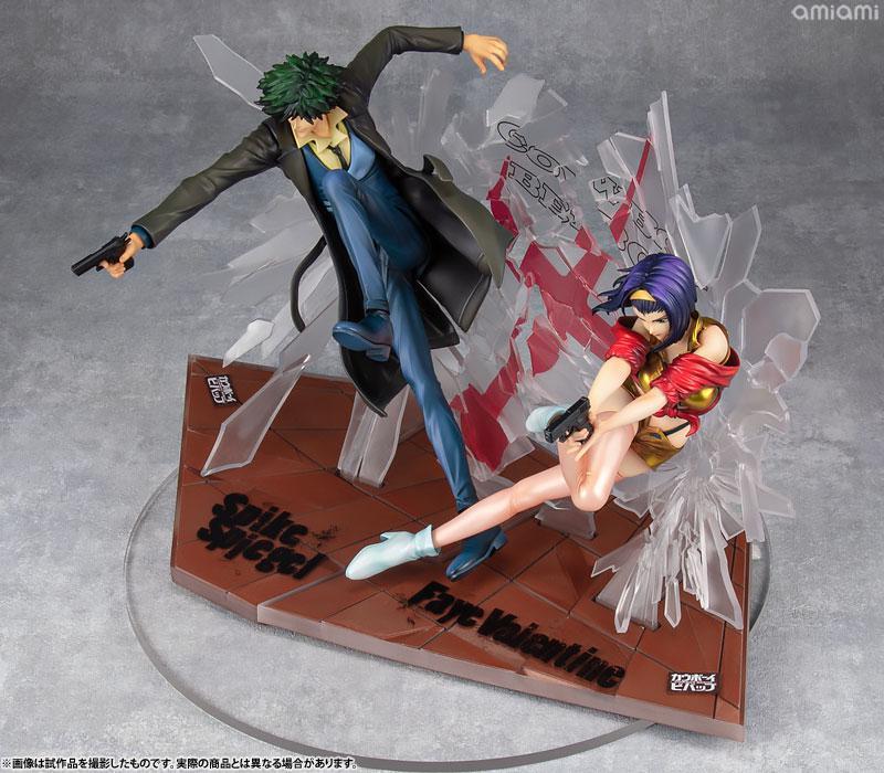 Cowboy Bebop Spike & Faye 1st GIG set 1/8 Complete Figures