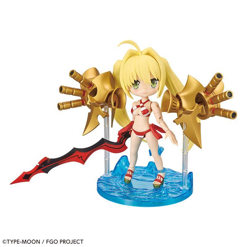 "Puchirittsu Caster/Nero Claudius Plastic Model ""Fate/Grand Order"""