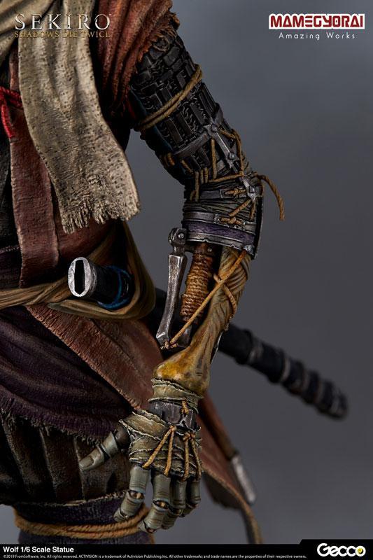 [Bonus] SEKIRO: SHADOWS DIE TWICE/ Wolf 1/6 Scale Statue 10