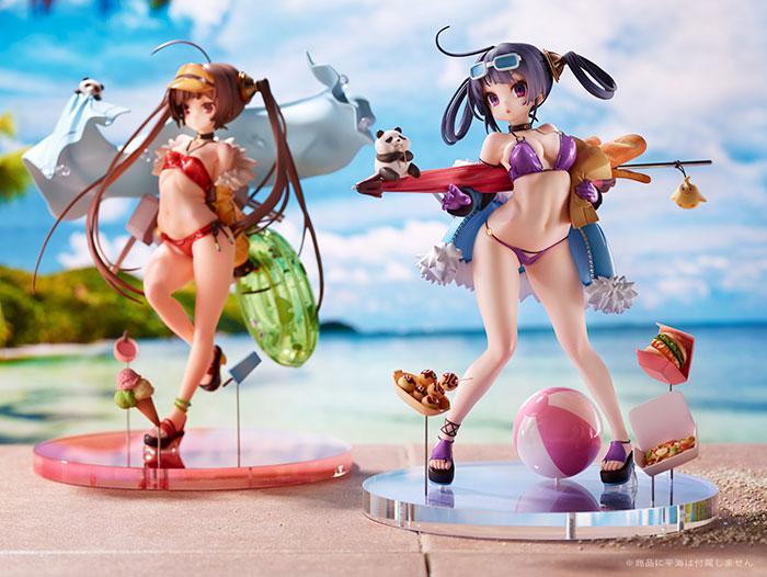 Azur Lane Ning Hai Shokuyoku no Natsu! (Ning Hai -Summer Hunger-) Complete Figure