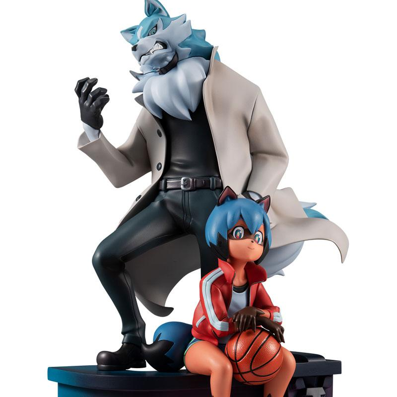 BNA Brand New Animal Michiru Kagemori & Shirou Oogami Complete Figure