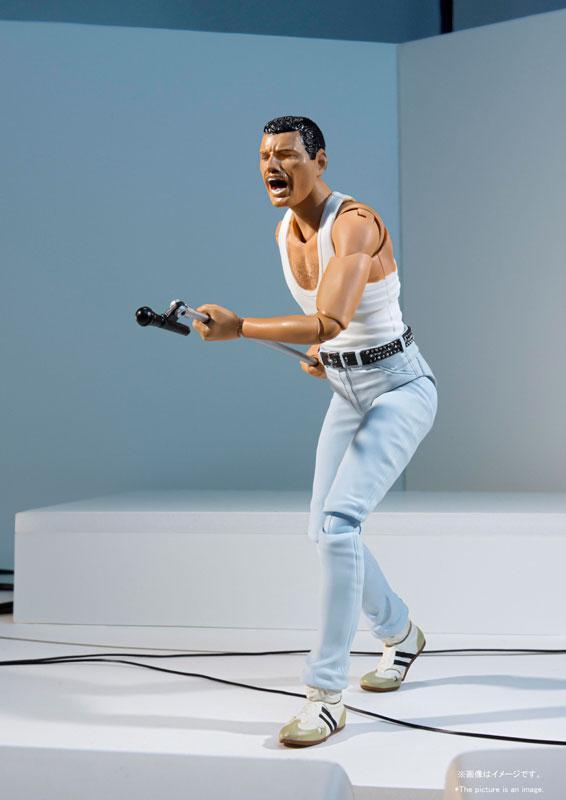 S.H.Figuarts Freddie Mercury LIVE AID Ver. 4