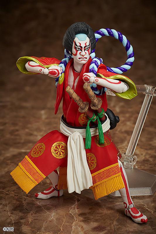 figma Kabuki -Yoshitsune Senbon Zakura- Kitsune Tadanobu 2