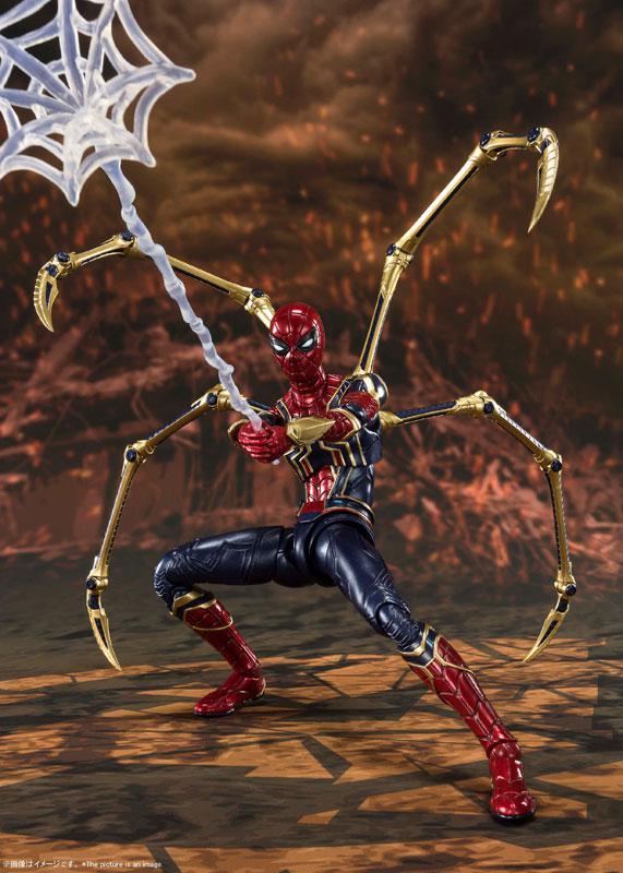 S.H.Figuarts Iron Spider -[FINAL BATTLE] EDITION- (Avengers: Endgame) 7