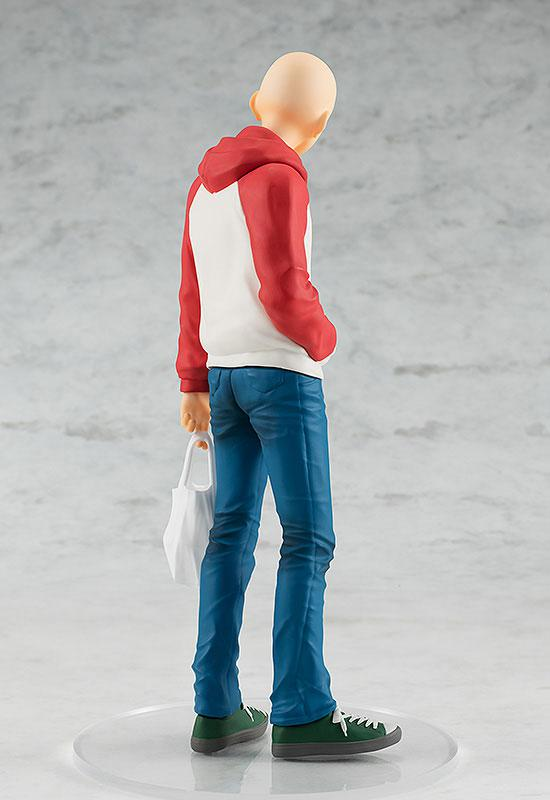 POP UP PARADE One-Punch Man Saitama OPPAI Hoodie Ver. Complete Figure