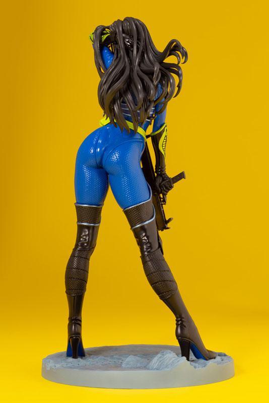 G.I. JOE Bishoujo Baroness 25th Anniversary Blue Limited Edition 1/7 Complete Figure 2