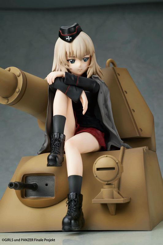 Girls und Panzer das Finale Erika Itsumi Complete Figure