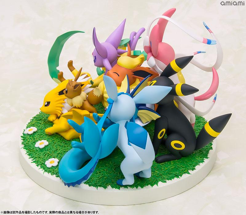 G.E.M. EX Series Pokemon Eevee Friends Complete Figures