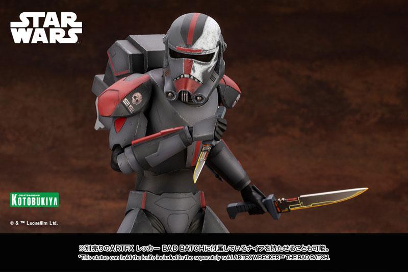 ARTFX Star Wars Bad Batch Hunter THE BAD BATCH 1/7 Easy Assembly Kit