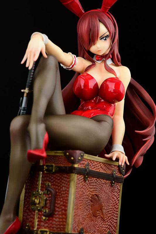 FAIRY TAIL Erza Scarlet Bunny girl_Style/type rosso 1/6 Complete Figure